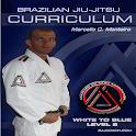 BJJ White-Blue Lvl.2 Jiu Jitsu icon