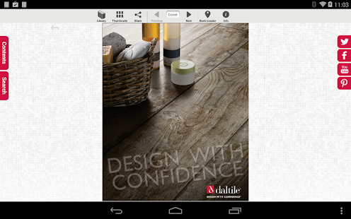 Daltile Product Catalogs - screenshot thumbnail