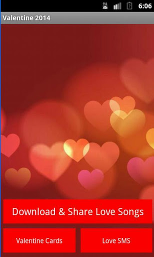 Valentine Songs SMS and Cards