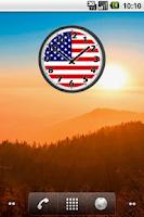 Screenshot of USA Clock