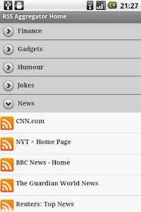 Rss Aggregator screenshot 0