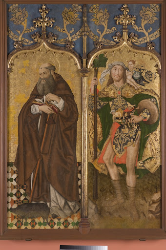 Saint Anthony Abbot and Saint Christopher