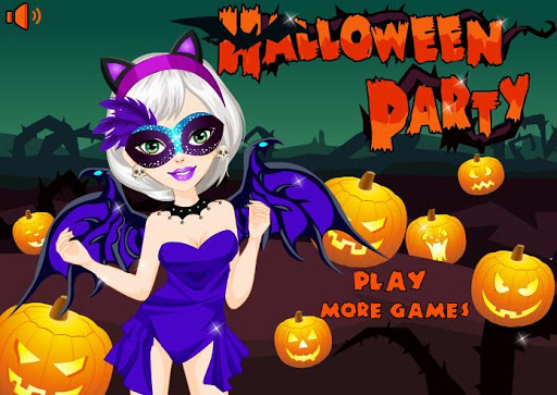 Halloween Happy Girl Party