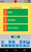 Screenshot of 3 Clues 1 Word