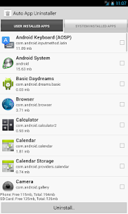 Auto App Uninstaller Full - screenshot thumbnail