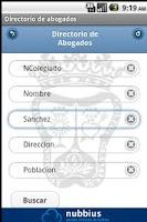 Screenshot of Abogados de Granada