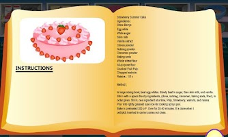 Screenshot of Strawberry Summer Cake