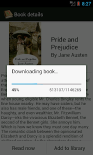 PageTurner eBook Reader - screenshot thumbnail