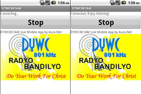 DYWC 801 AM Live Stream - screenshot