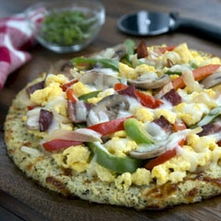California Cauliflower Breakfast Pizza