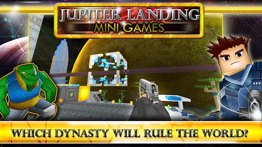 Jupiter Landing Mini Games