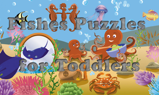 Fishes Puzzles for Toddlers !- screenshot thumbnail