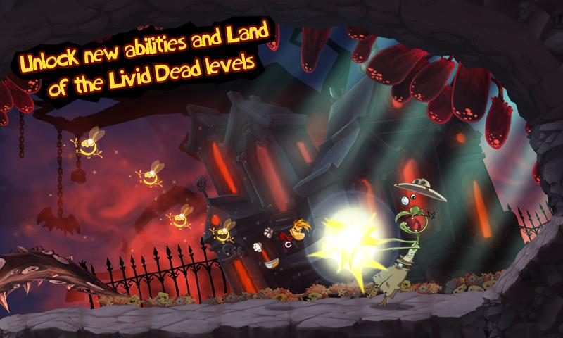 Rayman Jungle Run screenshot #5