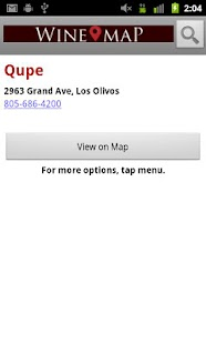 Wine Map of Santa Ynez- screenshot thumbnail