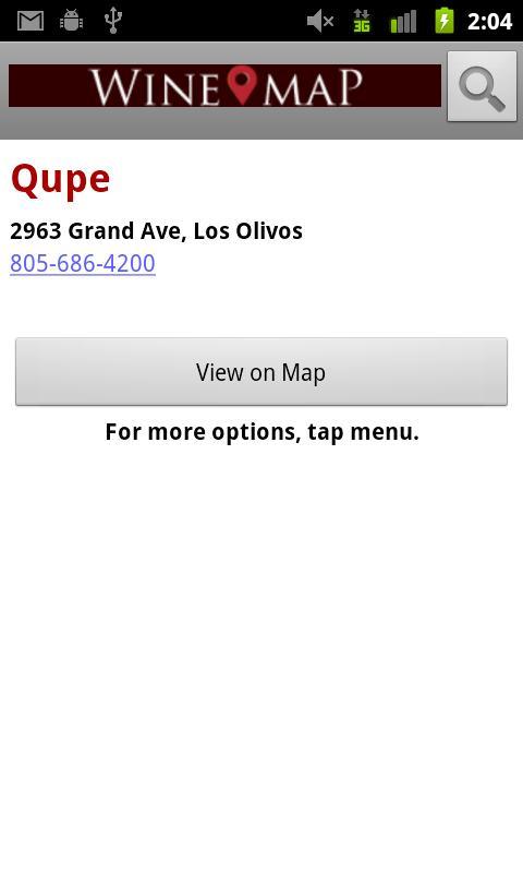 Wine Map of Santa Ynez- screenshot
