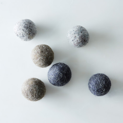 Gray Wool Dryer Balls (Set of 6)