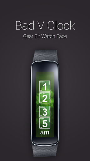 Bad V Clock for Gear Fit