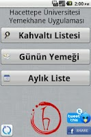 Screenshot of Hacettepe Yemekhane