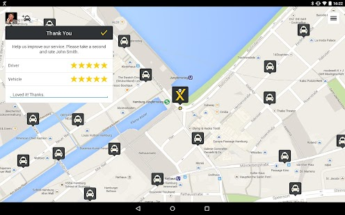 mytaxi – The Taxi App - screenshot thumbnail