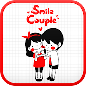Smile Couple go launcher