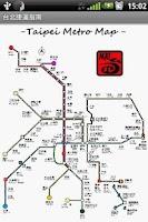 Screenshot of Taipei Metro Map