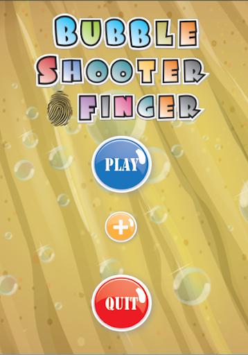 Bubble Shooter Finger