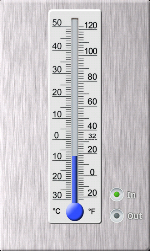 Thermometer- screenshot
