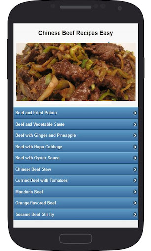 Chinese Beef Recipes Easy