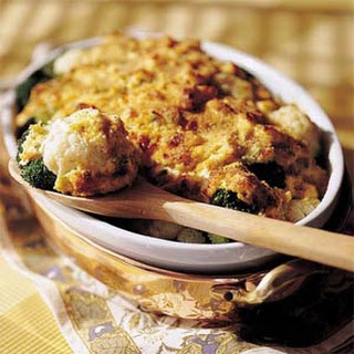 Broccoli-and-Cauliflower Gratin