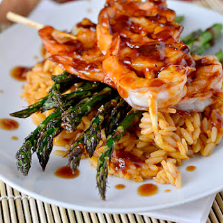 Copycat Bonefish Grill Pan Asian-Glazed Shrimp.