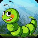 Crazy Larva Run icon