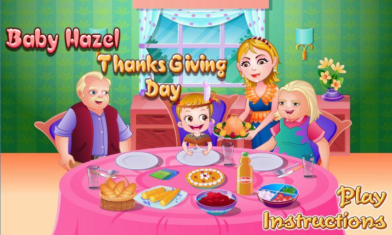 Baby Hazel Holiday Games- screenshot