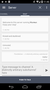 Plumble - Mumble VOIP (Free)- screenshot thumbnail