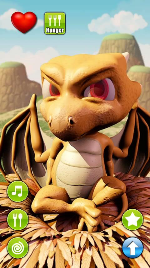 Talking Baby Dragon - screenshot