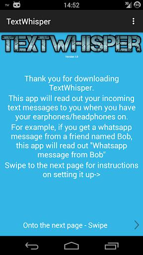 TextWhisper