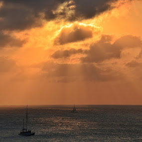 Felt the urge to post another sunsetshot.....☺ by Hilde Lorgen - Landscapes Sunsets & Sunrises