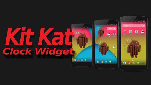KitKat Clock Widget
