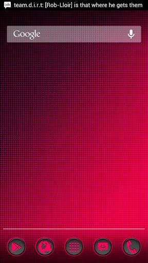 Phoney Pink Apex Nova ADW Holo