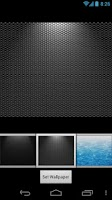 Screenshot of Silver Cube Theme 4 GoLauncher