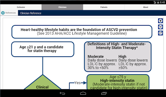 ASCVD Risk Estimator- screenshot thumbnail