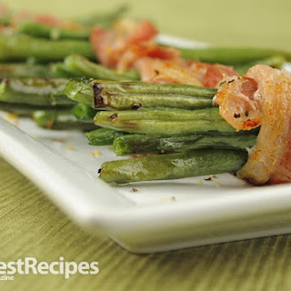 Bacon Wrapped Green Beans.