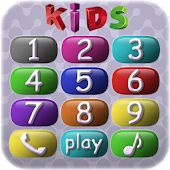 Kids game: baby phone