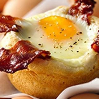 Bacon and Egg Savory Cupcakes