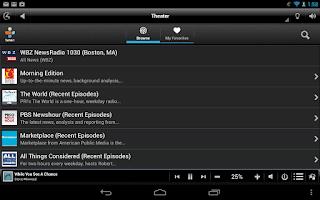 Screenshot of Control4® MyHome