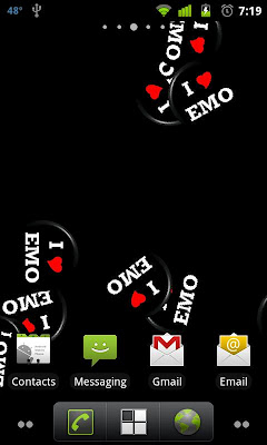 I Heart Emo Live Wallpaper On Google Play Reviews Stats