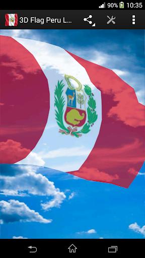 3D Flag Peru LWP