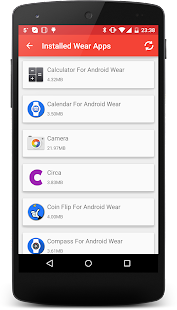 Smartwatch Center Android Wear- screenshot thumbnail