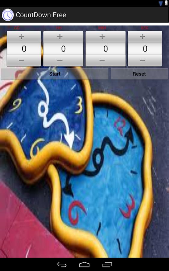 CountDown Free- screenshot