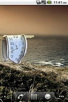 Screenshot of Melting Clock by Salvador Dali