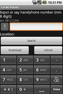 Lacak Ponsel- screenshot thumbnail